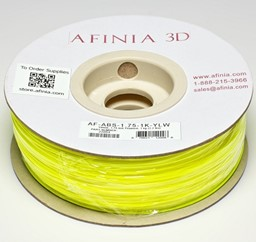 Bild von 3D Filament 1,75 , Yellow 1kg, ABS Value Line