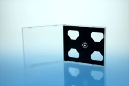 Bild von CD-Tray black highgrade 2CD