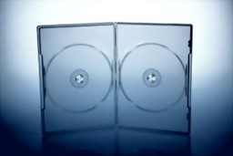 Bild von DVD Box 2 DVDs slimline transparent highgrade