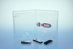 Bild von 1 USB-Stick BluRay Box PP Transparent