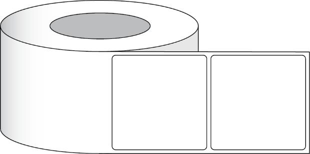 Papier Hochglanz Etikett 4x4 10 16 X 10 16 Cm 500 Etiketten Pro Rolle 2 Kern