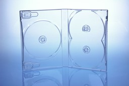 Bild von DVD Box 3 DVDs transparent highgrade