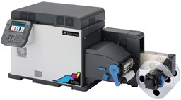 Bild von Afinia LT5C CMYK + White Label Printer