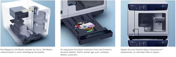 Epson Discproducer Features