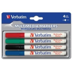 Bild von CD-R Pen Verbatim 4er Colour Set