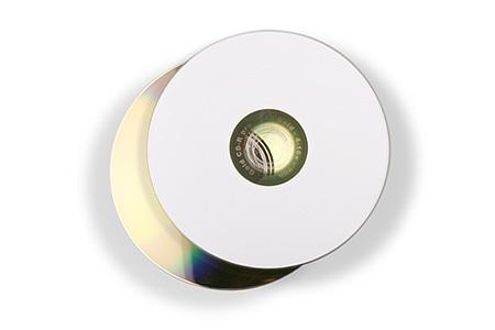 Cd Rohlinge Fti Printable Inkjet White 80min 700mb Gold Dye