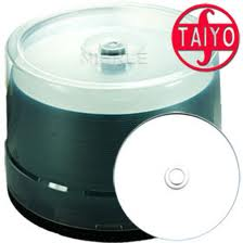 Bild von CD-Rohlinge JVC TAIYO YUDEN printable, ThermoRetransfer white 80min./700MB, 52x